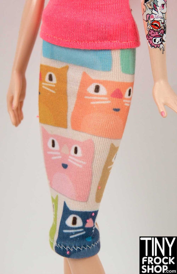 Barbie Meowy Knit Skirt or Tube Dress by TINY FROCK