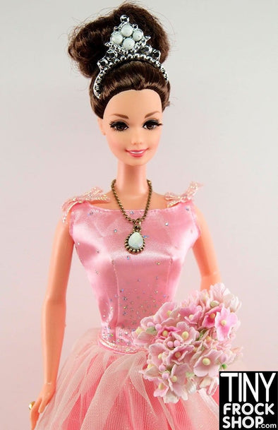 Barbie Pre-Loved Pink Ombre My Fair Lady Re-Dressed Doll