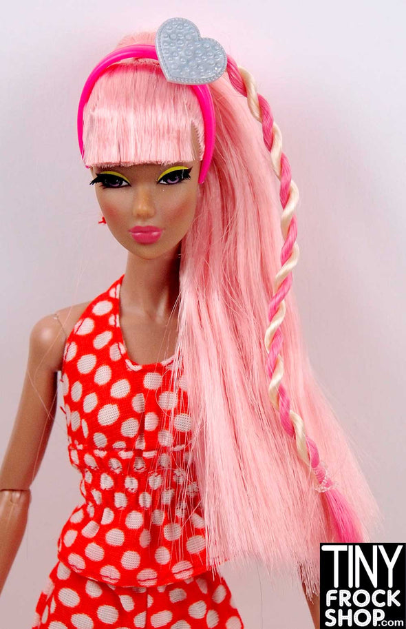 Barbie Pink Headband Hair Extension