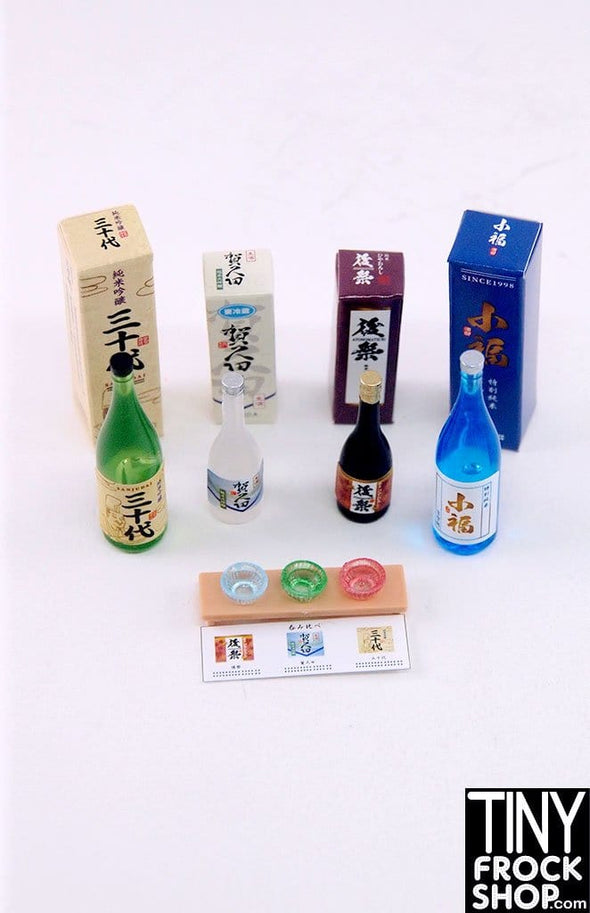 Barbie Re-Ment Liquor Store Japanese Sake Set 6