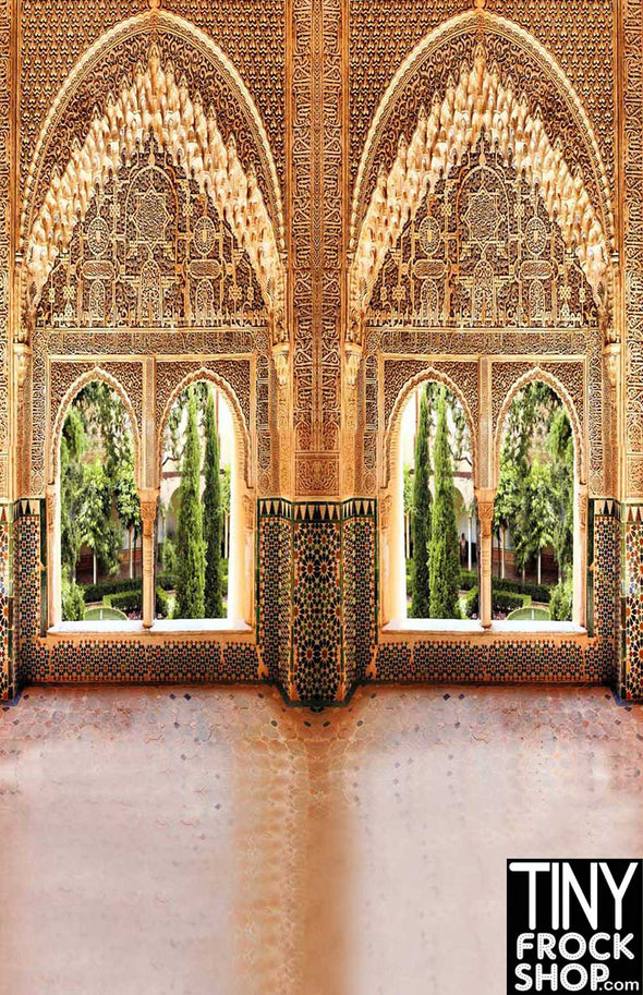 Barbie Photography Backdrop - Wide - Moroccan Palace S-1840