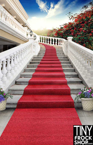 Barbie Photography Backdrop - Wide - Red Carpet S-2019