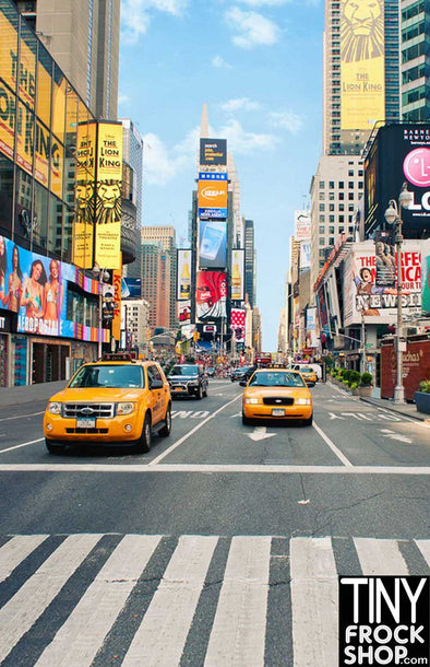 Barbie Photography Backdrop - Wide - Times Square NYC S-2262
