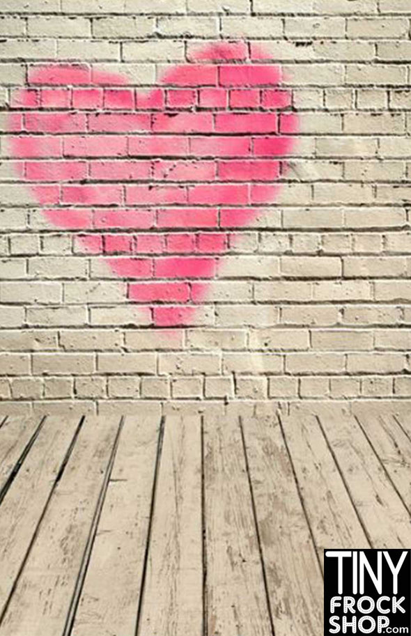 Barbie Photography Background - Wide - Lonely Heart S-2568