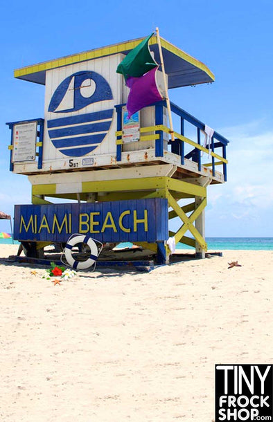 S-571 Barbie Photography Background - Standard - Miami Beach