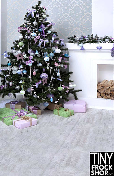 Barbie Photography Background - Standard - Pastel Christmas ST-528