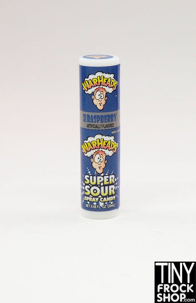 Zuru Mini Brands Warheads Raspberry Super Sour Spray Candy - TinyFrockShop.com
