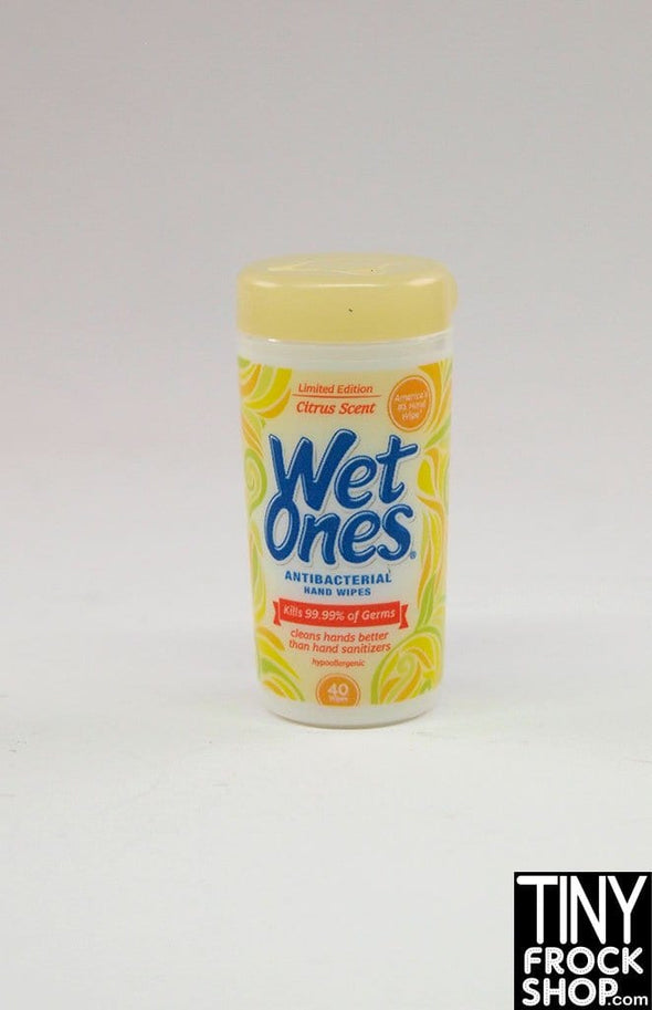 Zuru Mini Brands Wet Ones Citrus Scent Wipes