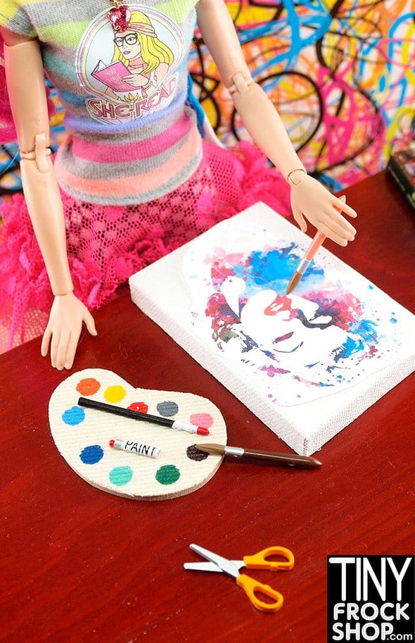 Barbie Art Painting Palette