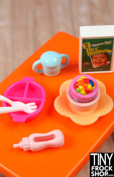 Barbie Baby Cereal Food Set - MANY OPTIONS!