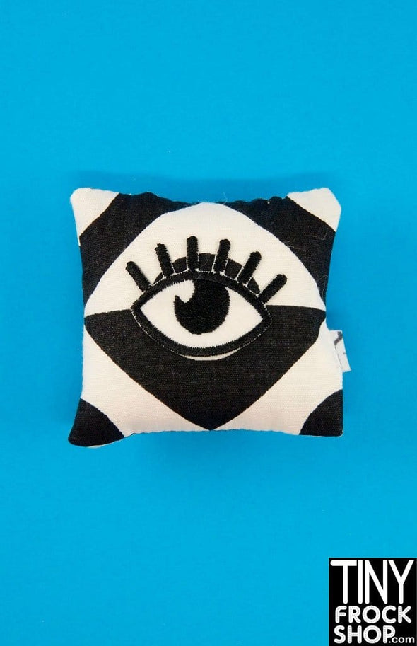 Barbie Graphic Eyelash Pillow by Dress that Doll