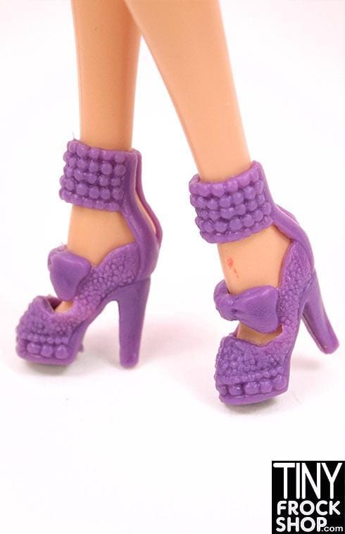 Barbie Beaded Cuff Bow Heel - MORE COLORS!! - Tiny Frock Shop