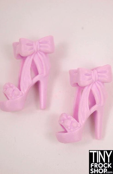 Barbie Faux Designer Style Bow Heels - MORE COLORS!!