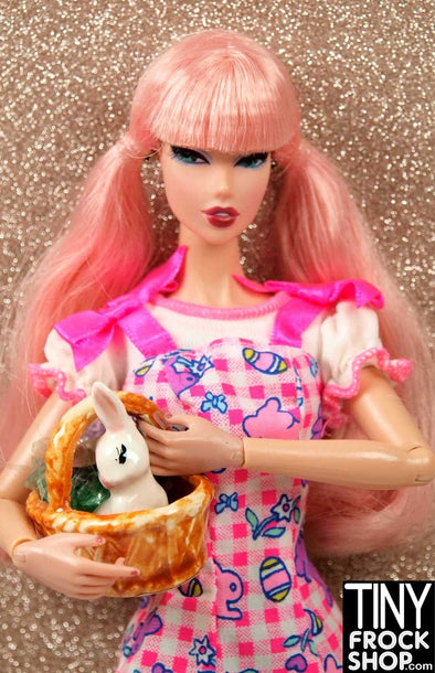 Barbie Ceramic Easter Basket - TinyFrockShop.com