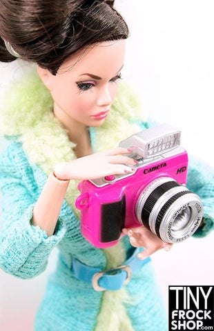 Barbie Canon Style Camera with 2 Lenses - Flash and SOUND!