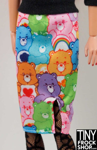 Barbie FKR85 Care Bears Colorful Graphic Skirt