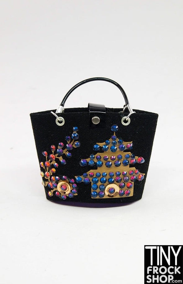 Barbie Retros Standard Chinese Temple Tote Bags - TinyFrockShop.com