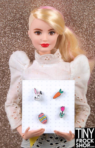 Barbie Enamel Magnetic Brooch Sets by Pam Maness - More Styles!