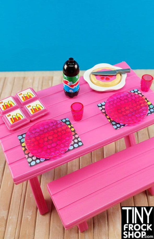 Barbie Fast Food Picnic Set