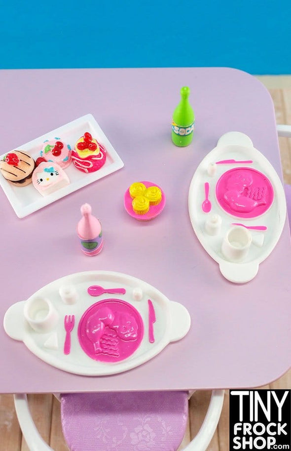 Barbie Fish And Fizzy Food Set