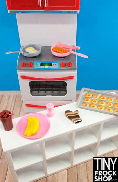 Barbie Fried Eggs And Bacon Breakfast Set