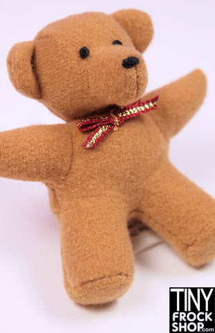 Barbie Fuzzy Brown Teddy Bear