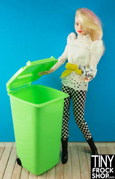 Barbie Garbage Recycling Trash Cans