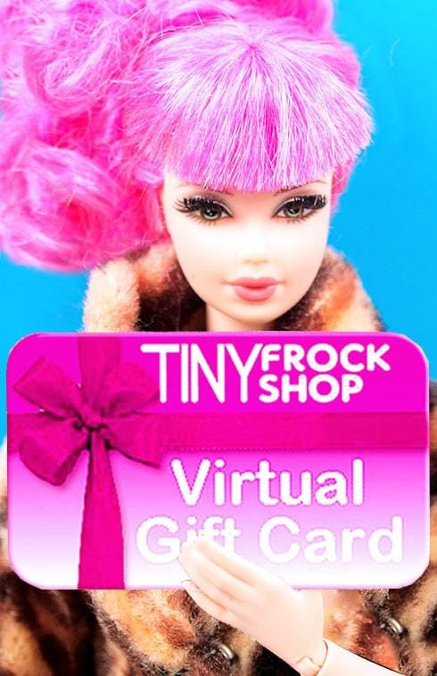 A Gift Card From Tiny Frock Shop
