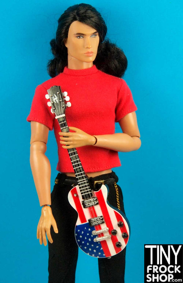 Barbie W-GM67 Wood Hand Crafted American Guitar - TinyFrockShop.com