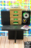 Barbie Gold 5 Piece Stereo System With Turntable Lights And Sound