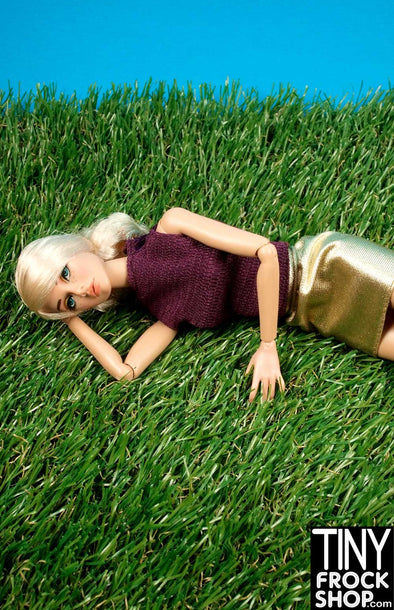 "Barbie 19"" x 13.5"" High Quality Faux Grass Mat"