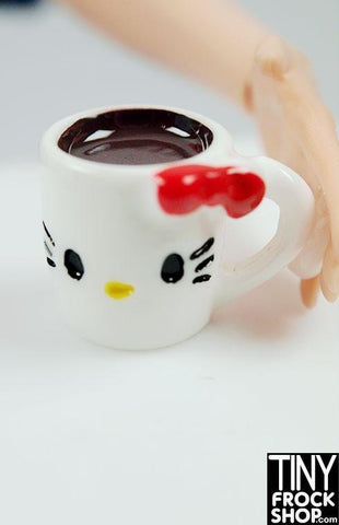 Barbie Hello Kitty Cup Of Coffee