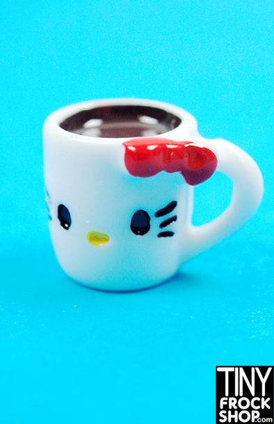 Barbie Kitty Cup Of Coffee