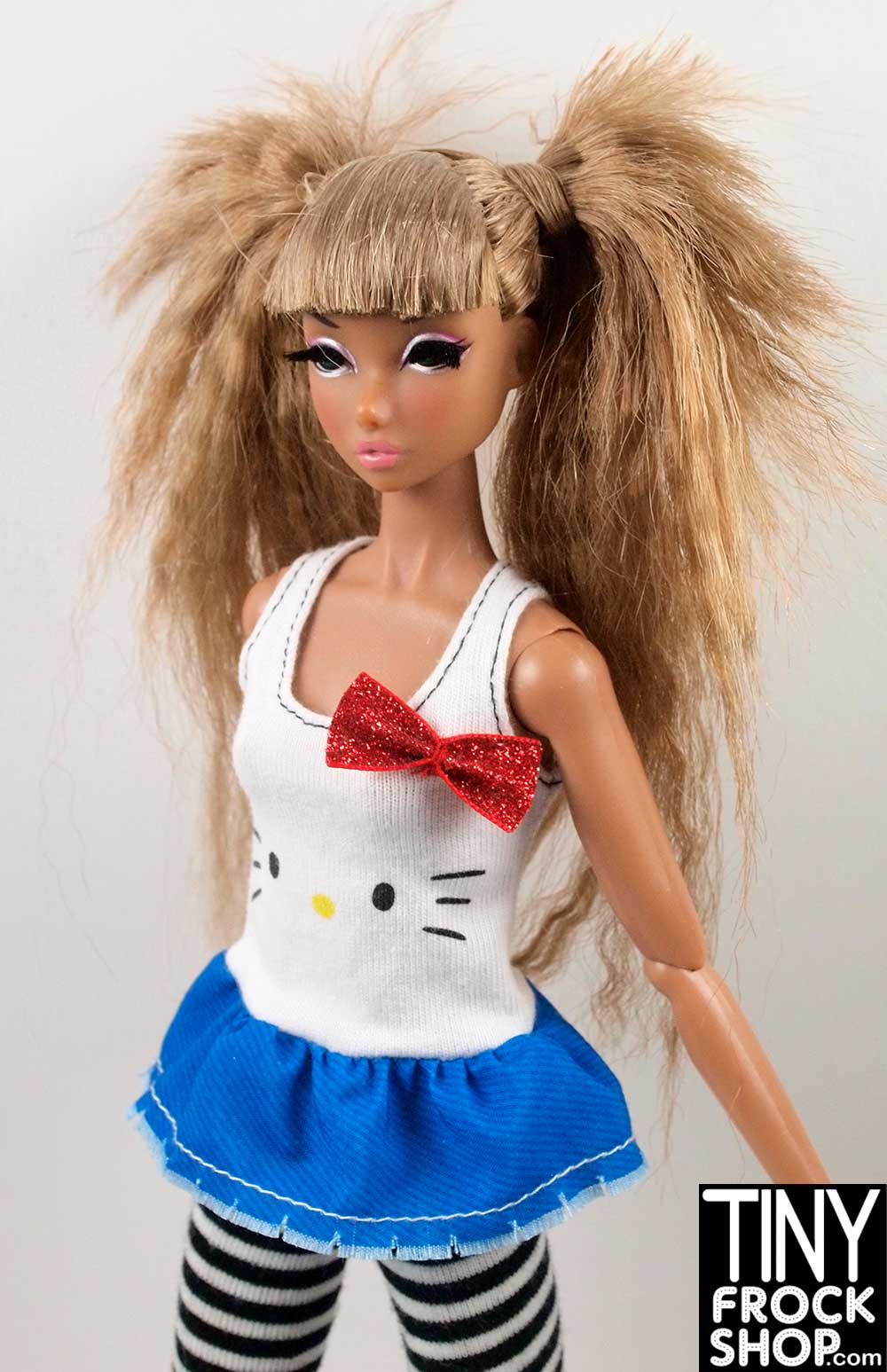 f66dd3137 Tiny Frock Shop Barbie FLP45 Hello Kitty Red White and Blue Top - NIB