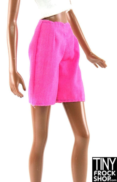 Barbie Hot Pink Simple Shorts