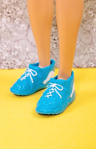 Ken Bright Blue Sneakers