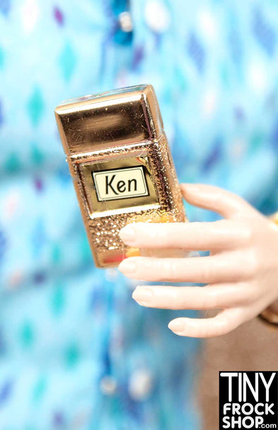 Barbie Ken Gold Faux Lighter