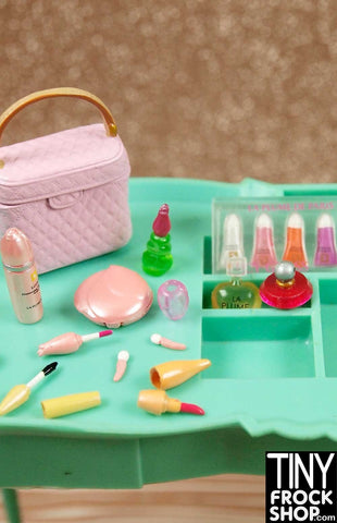Barbie Re-Ment 12 Piece La Plume Cosmetic Set - BACK IN STOCK!