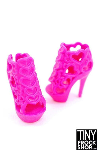 Barbie Lacey Heart Heels
