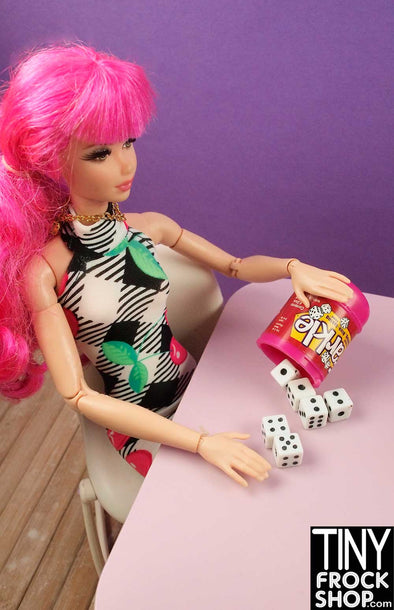 Barbie Sized Mini Farkle Dice Game - Really Works!