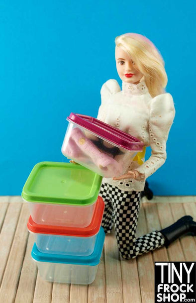 Barbie Colored Top Storage Box