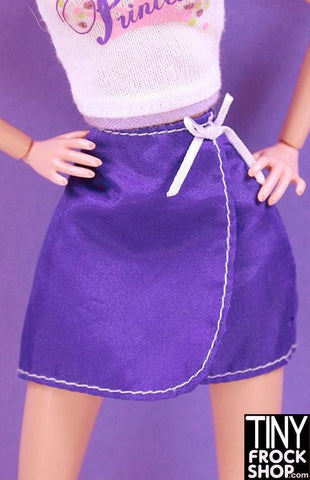 Barbie Nylon Wrap Skirt