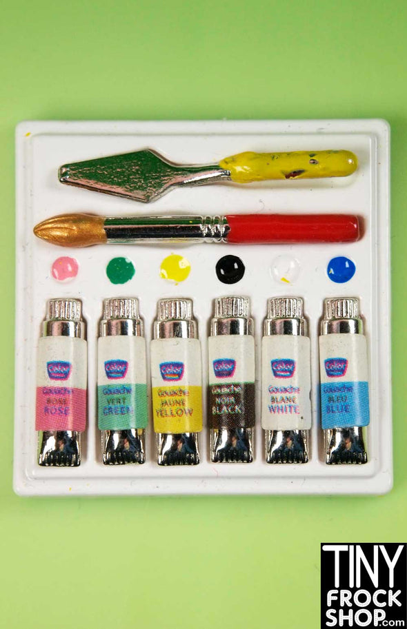 Barbie Painting Set