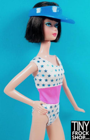 Barbie Patriotic Stars Swim Suit
