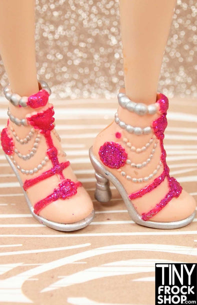 Barbie Pearl and Glitter Draped My Scene Shoes