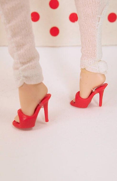 Barbie High Quality Peep Toe Stilettos - More Colors - TinyFrockShop.com