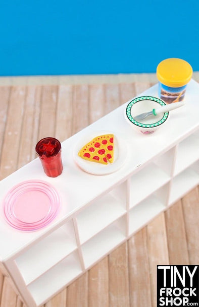 Barbie Pizza And Ice Cream Set