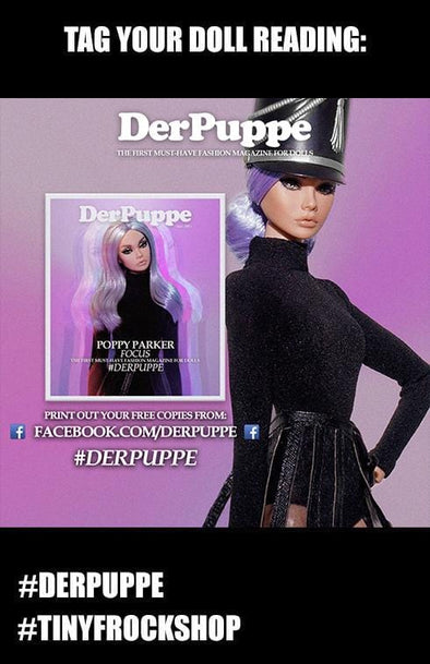Barbie DerPuppe Fashion Magazine - ALL Issues! FREE Digital Download! - Tiny Frock Shop