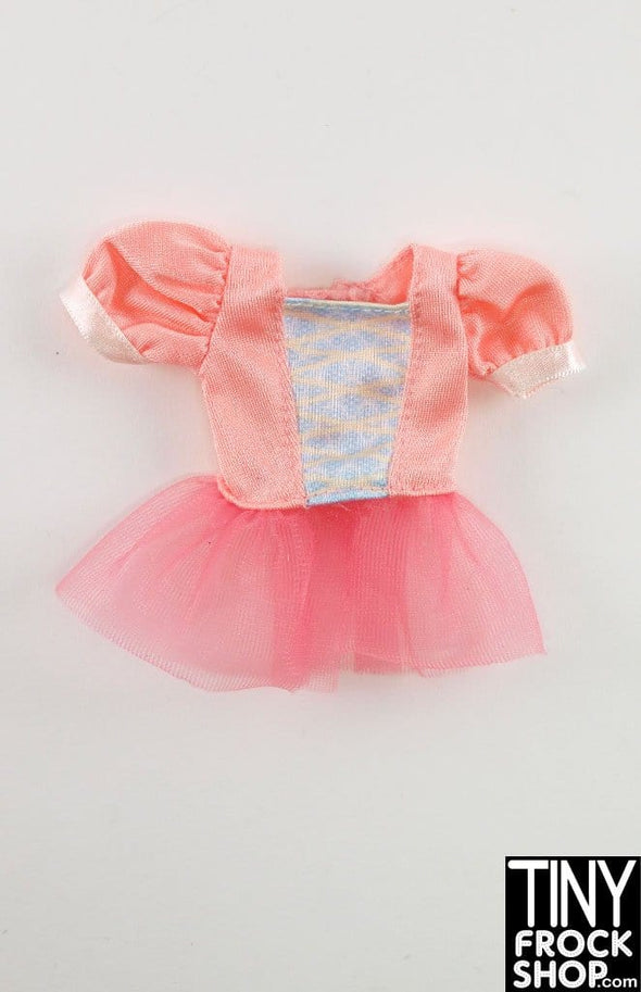 Barbie Princess Faux Lace Up Girly Top