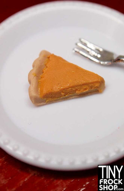 Barbie Handmade Pumpkin Pie By Cafe Miniature